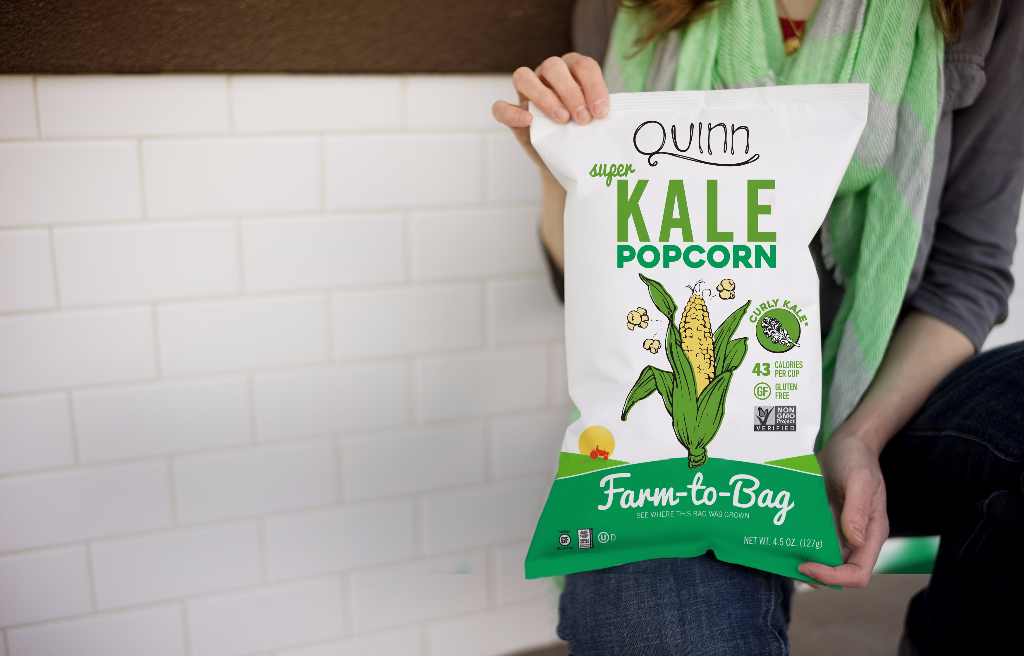 Kale & Sea Salt Farm-To-Bag Popcorn