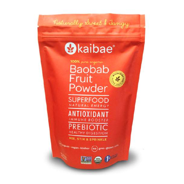 Baobab Fruit Powder Stand Up Pouch