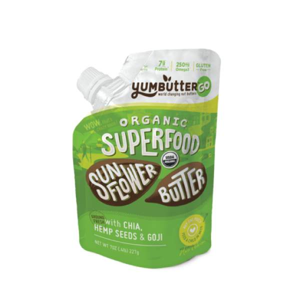 Organic Superfood Sunflower butter Go Pack