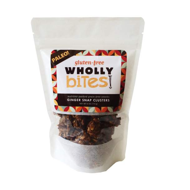 Wholly Bites Ginger Snap Clusters