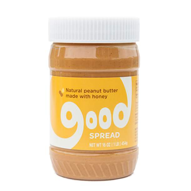 Natural Peanut Butter + Honey, Jar (original)